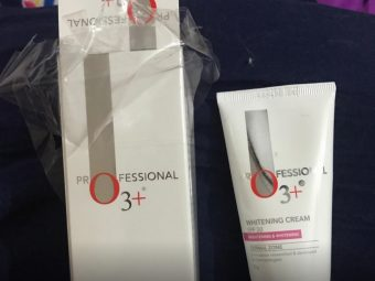 O3+ Professional Whitening Cream SPF 30 -Really a good cream-By sanna