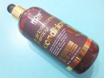 WOW HAIR LOSS CONTROL THERAPY CONDITIONER -Great-By pogostylecase