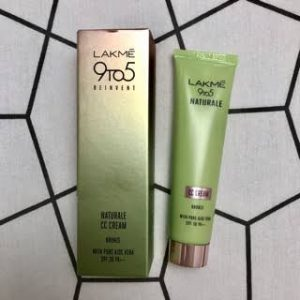 Lakme 9 To 5 Naturale Cc Cream -Great for daily use-By pragya_sharma47
