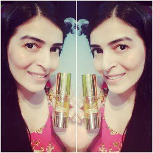 Aegte Ultra Luxurious Kumkuma Face and Body Polishing Oil – 30 ml / 1 fl. Oz -For a flawless glowing skin-By mintydesai