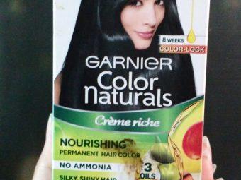 Garnier Color Naturals Creme Hair Color -Ammonia free nourishing hair color-By ashwini_bhagat