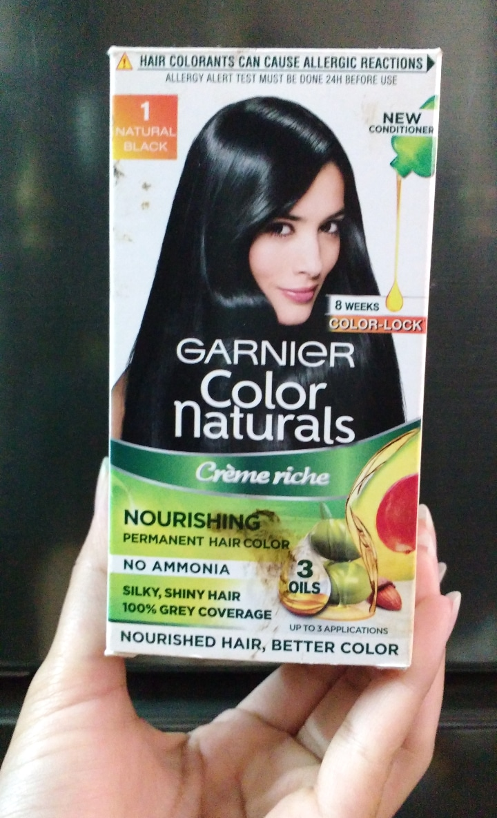 Garnier Color Naturals Creme Hair Color-Ammonia free nourishing hair color-By ashwini_bhagat