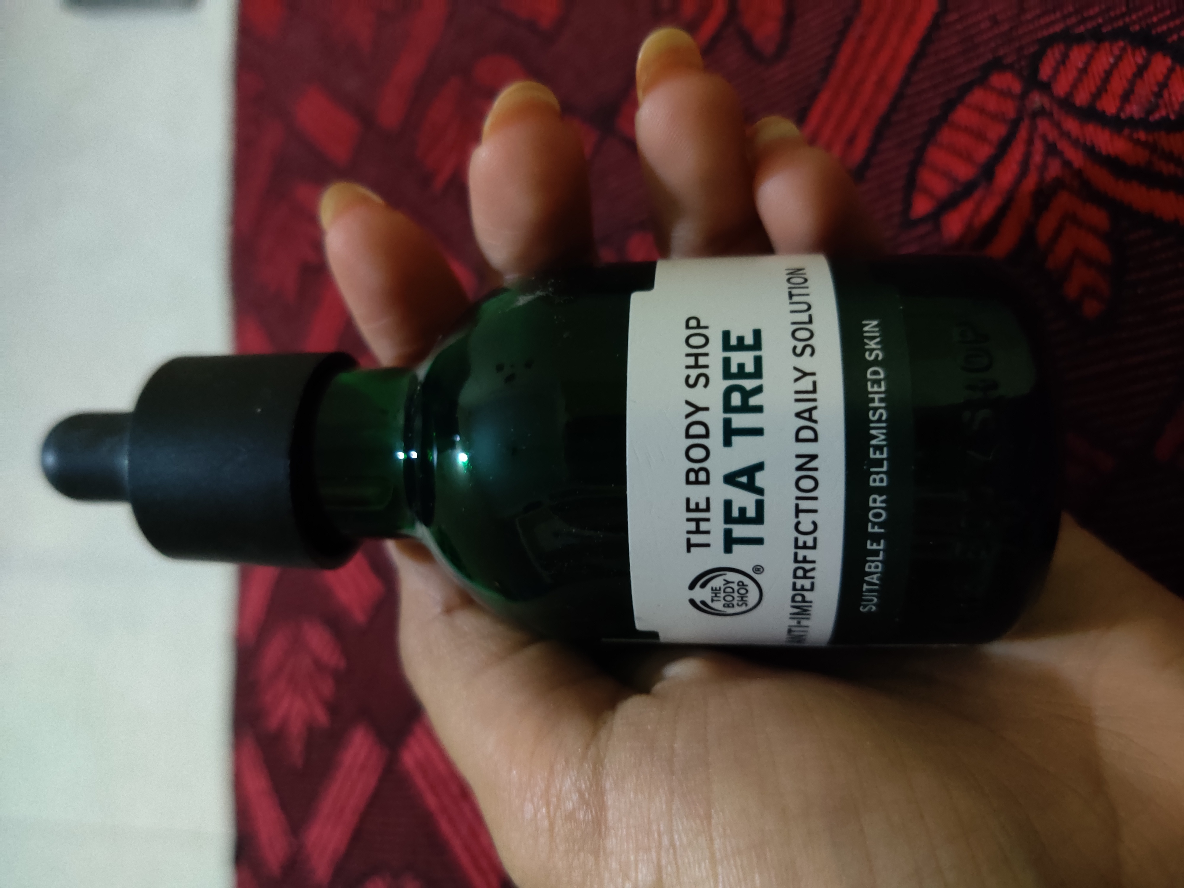 The Body Shop Tea Tree Oil-Tea tree oil for acne and pimples and hair dandruff-By likhita
