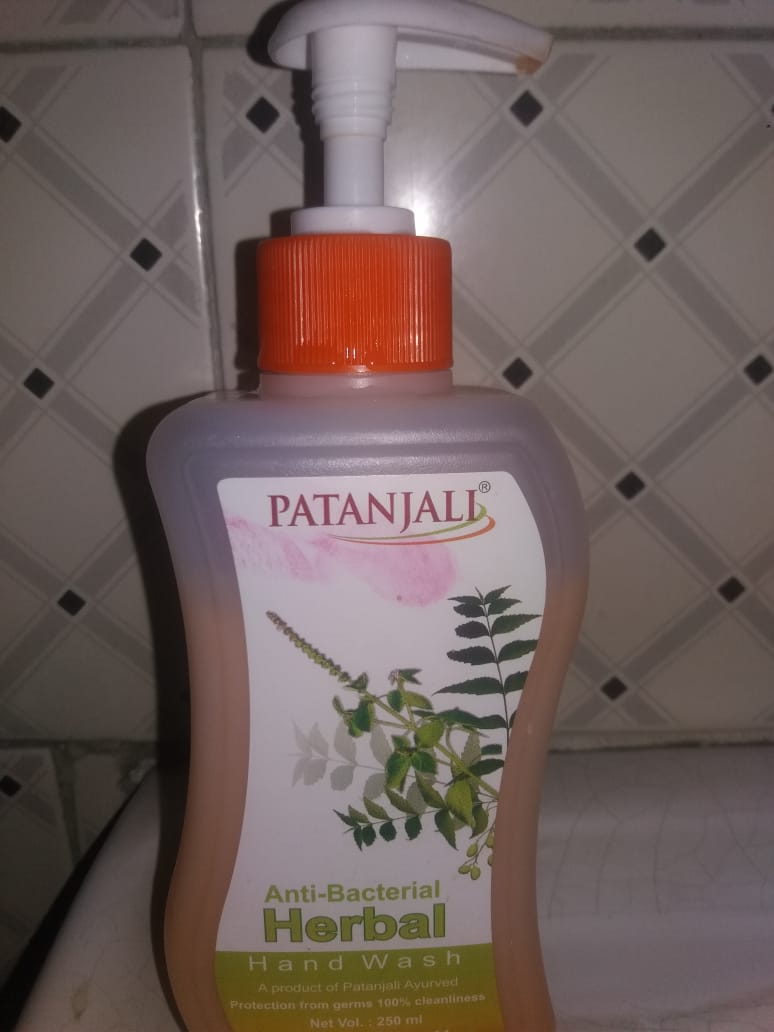 Patanjali Herbal Hand Wash-Patanjali Herbal Hand Wash-By aneesha
