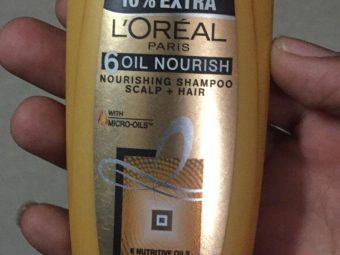 L'Oreal Paris 6 Oil Nourish Shampoo -LOreal Paris Oil Nourish Shampoo-By ashwini_bhagat