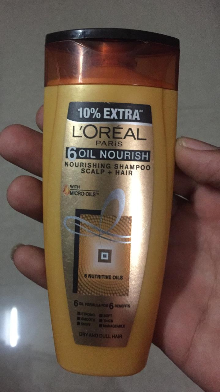 L'Oreal Paris 6 Oil Nourish Shampoo-LOreal Paris Oil Nourish Shampoo-By ashwini_bhagat