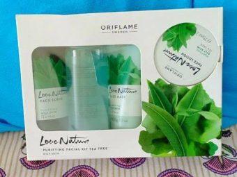 Oriflame Love Nature Facial Kit Tea Tree -Oriflame-By bushraa