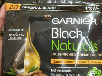 Garnier Black Naturals Oil Enriched Cream Hair Colour -Oil enriched hair color-By ashwini_bhagat