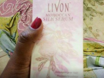 Livon Moroccan Silk Serum -Best serum-By srishtiahuja