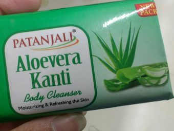 Patanjali Aloevera Kanti Body Cleanser -Aloe vera body cleanser-By ashwini_bhagat