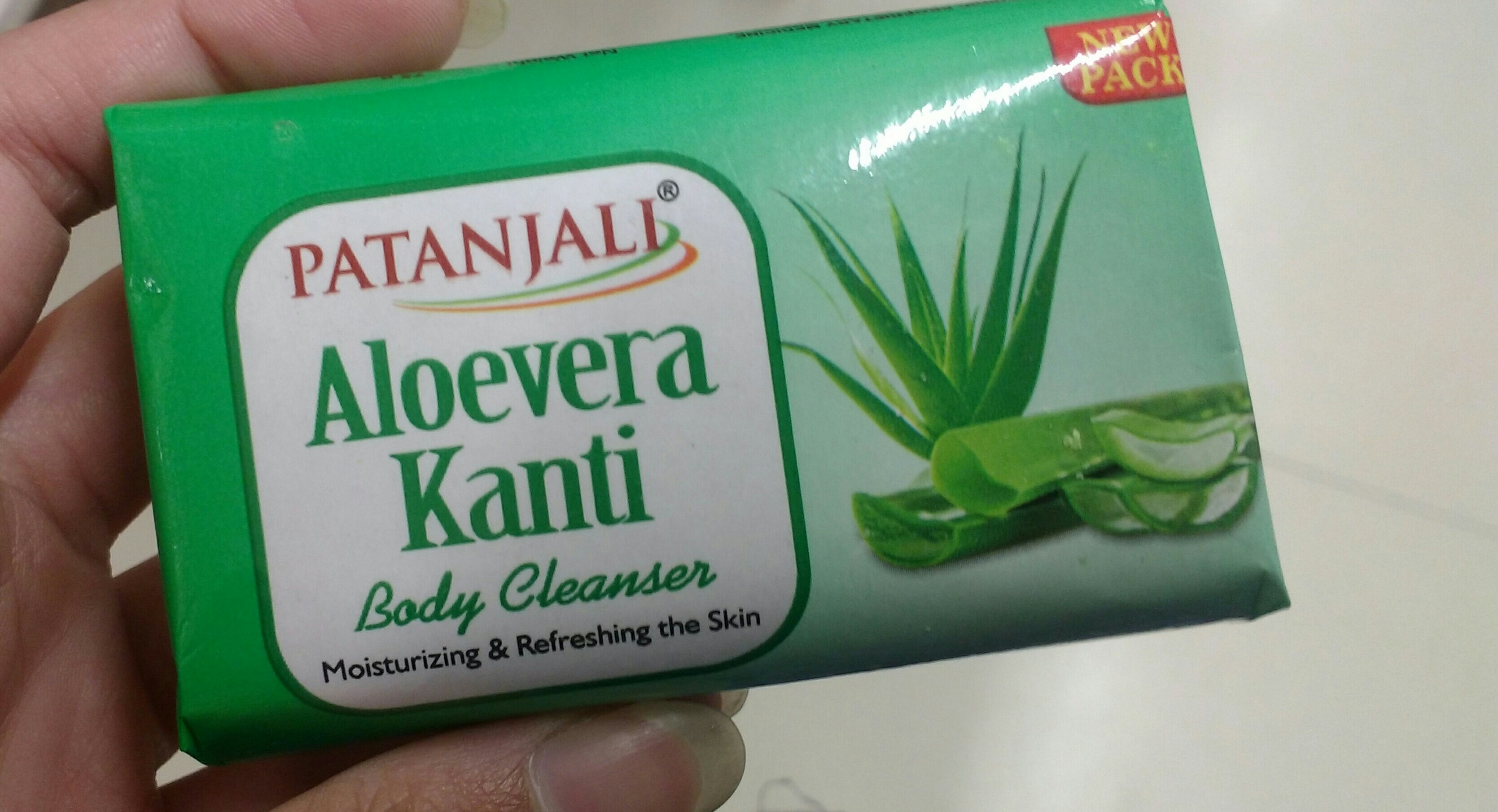 Patanjali Aloevera Kanti Body Cleanser -Aloe vera body cleanser-By ashwini_bhagat