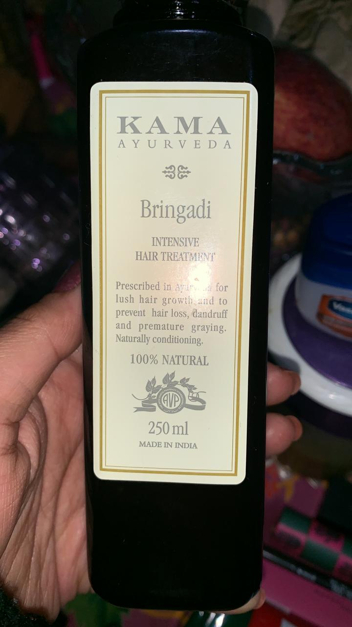 Kama Ayurveda Bringadi Intensive Hair Treatment Oil-Good hair oil-By poonam_kakkar