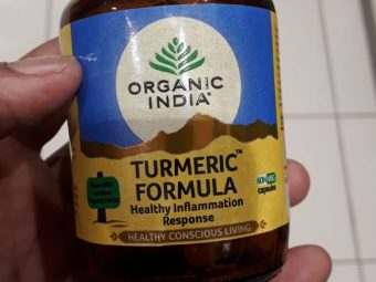 Organic India Turmeric Formula pic 2-For overall well-being-By manju_