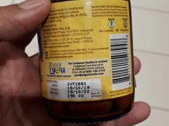 Organic India Turmeric Formula pic 1-For overall well-being-By manju_