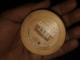 Maybelline Dream Matte Mousse Foundation pic 1-Good Product-By divya_shetty