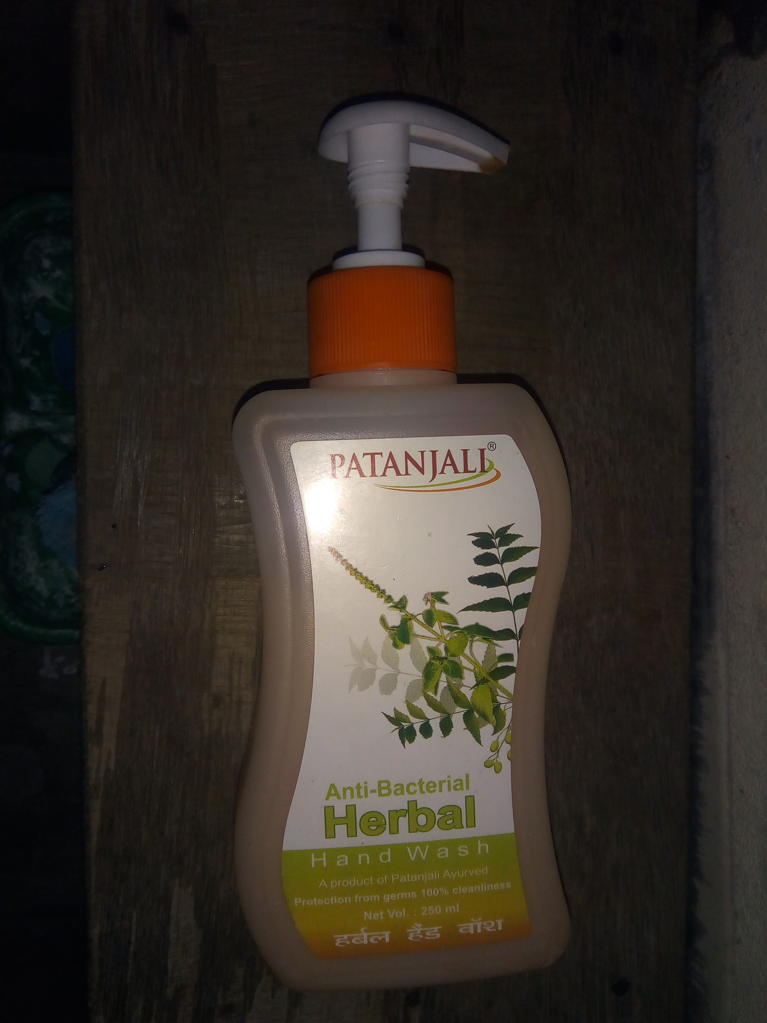 Patanjali Herbal Hand Wash-Patanjali Herbal Hand Wash-By aflyingsoul