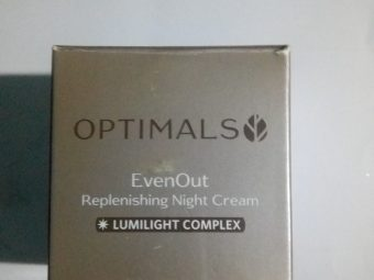 Oriflame Optimals Even Out Night Cream -Oriflame Optimals Even Out Night Cream-By aflyingsoul