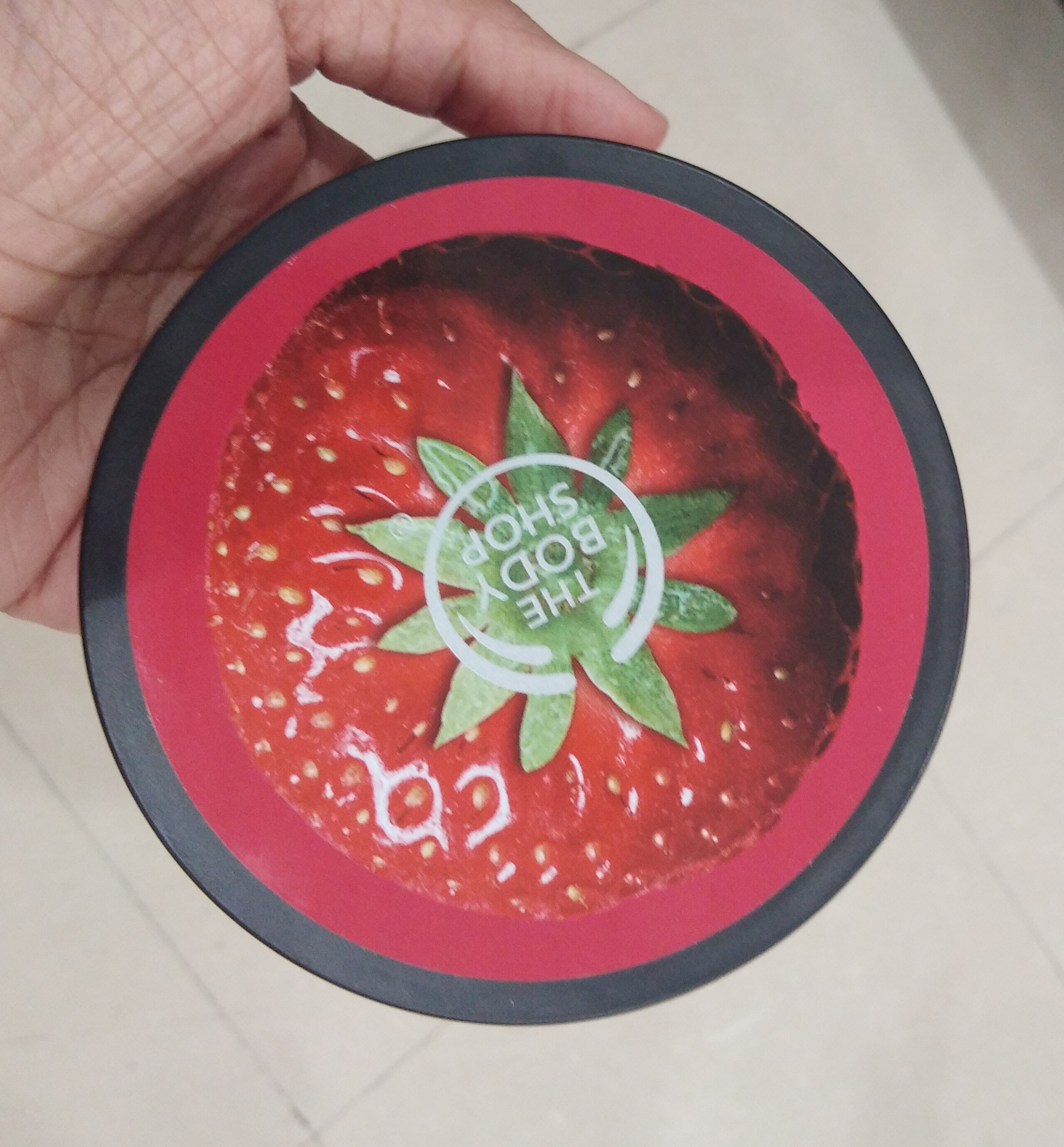 The Body Shop Strawberry Body Butter-Love it-By Nasreen-1