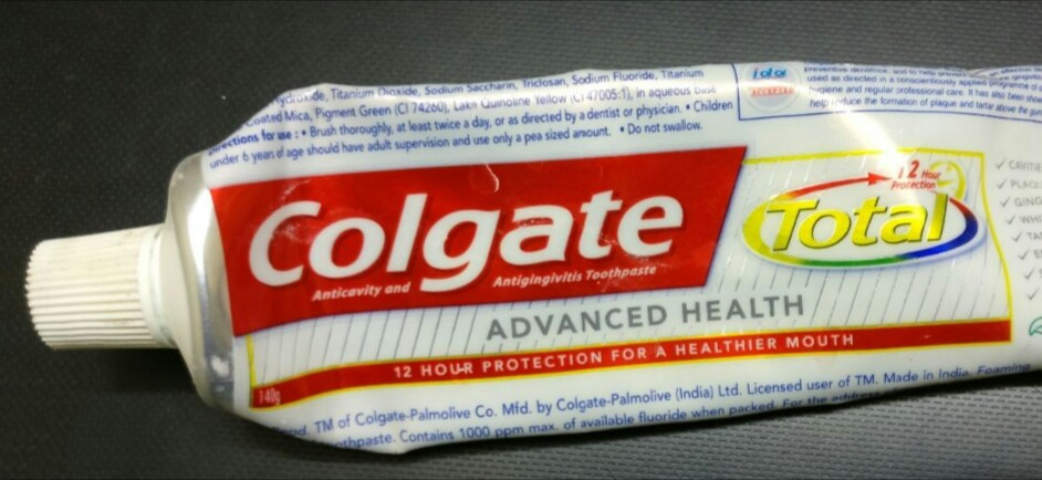 Colgate Total Advanced Health Toothpaste-Colgate Total Advanced Health Toothpaste-By aflyingsoul
