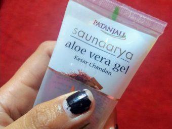 Patanjali Aloe Vera Gel -Add moisture to skin-By prinkal_kalsaik