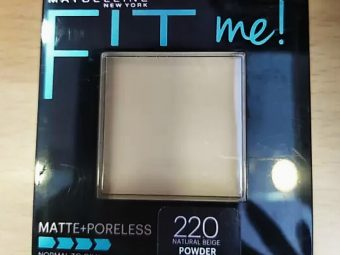 Maybelline Fit Me Matte And Poreless Powder -Maybelline Fit Me Matte And Poreless Powder-By aflyingsoul