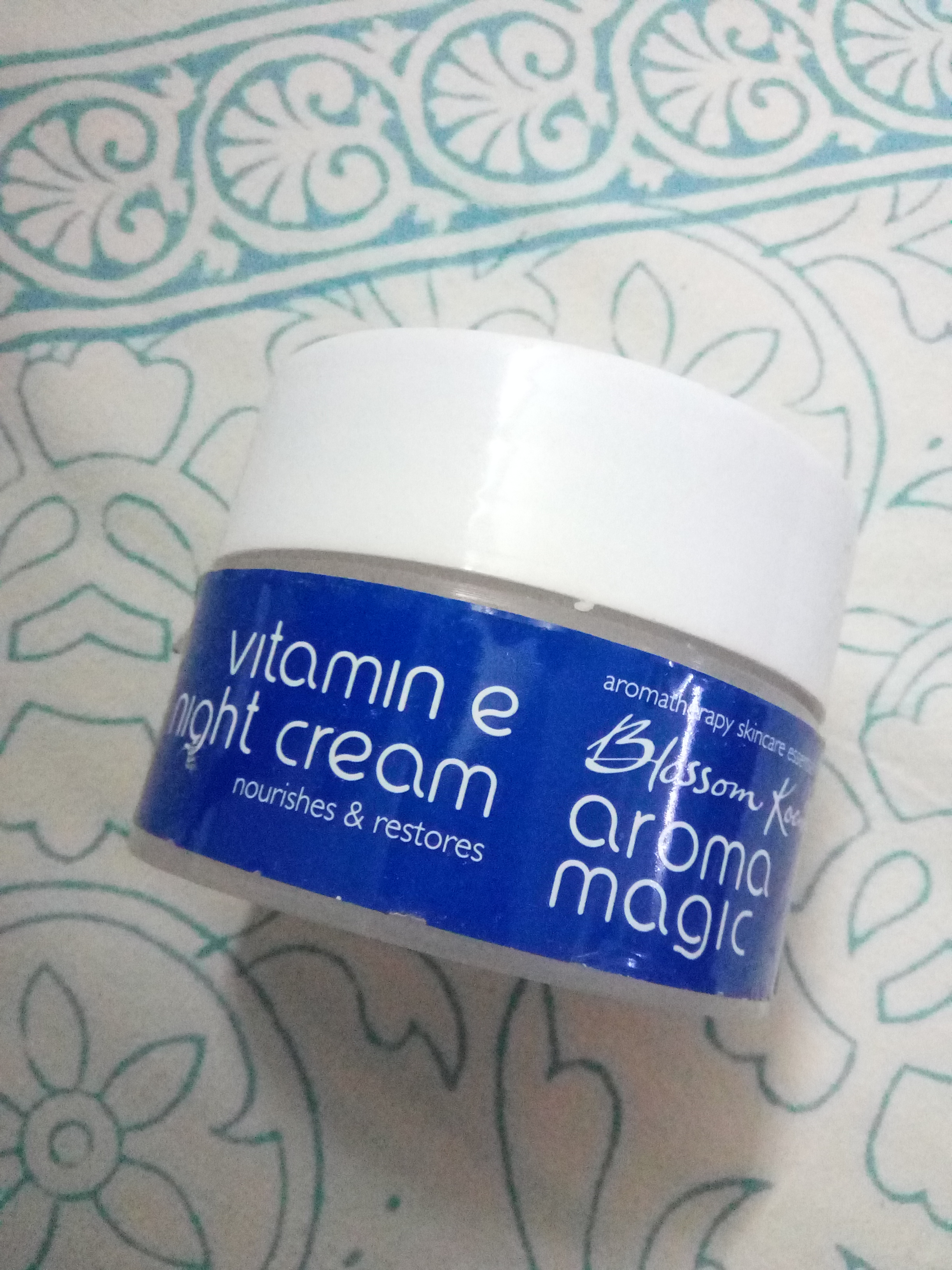 Aroma Magic Vitamin E Night Cream-Aroma Magic Vitamin E Night Cream-By aflyingsoul