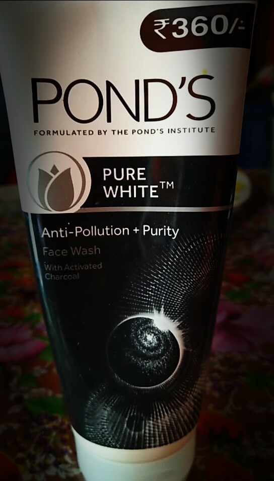 Ponds Pure White Anti Pollution + Purity Face Wash -Ponds Pure White Anti Pollution Purity Face Wash-By aflyingsoul
