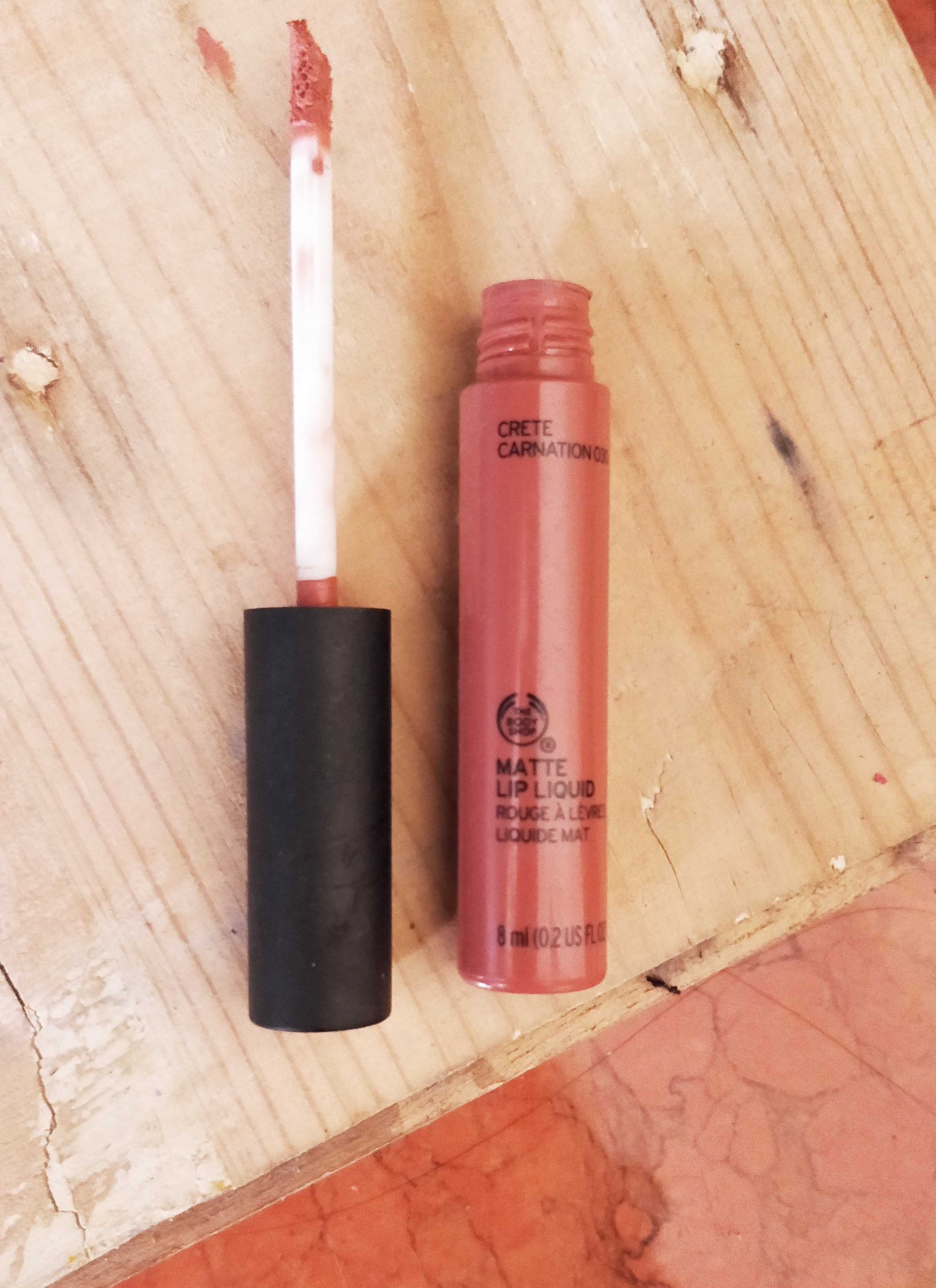 The Body Shop Matte Lip Liquid -Matte liquid , scat boring colors !-By devika98
