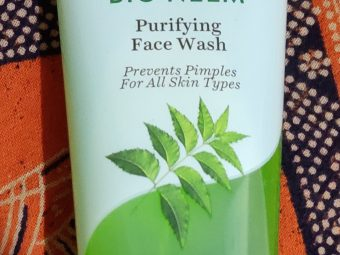 Biotique Bio Neem Purifying Face Wash -Best Neem Face Wash for acne prone skin-By chetnaa