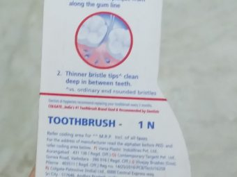 Colgate Slim Soft Toothbrush pic 1-Good one-By Nasreen
