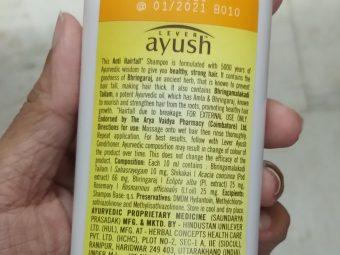 Lever Ayush Anti Hairfall Bhringaraj Shampoo pic 1-Not satisfied-By Nasreen