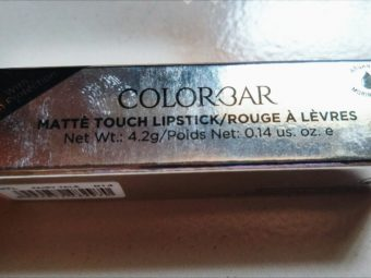 Colorbar Matte Touch Lipstick -Colorbar Matte Touch Lipstick-By aflyingsoul
