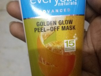 Everyuth Naturals Advanced Golden Glow Peel-off Mask pic 1-Love it-By Nasreen