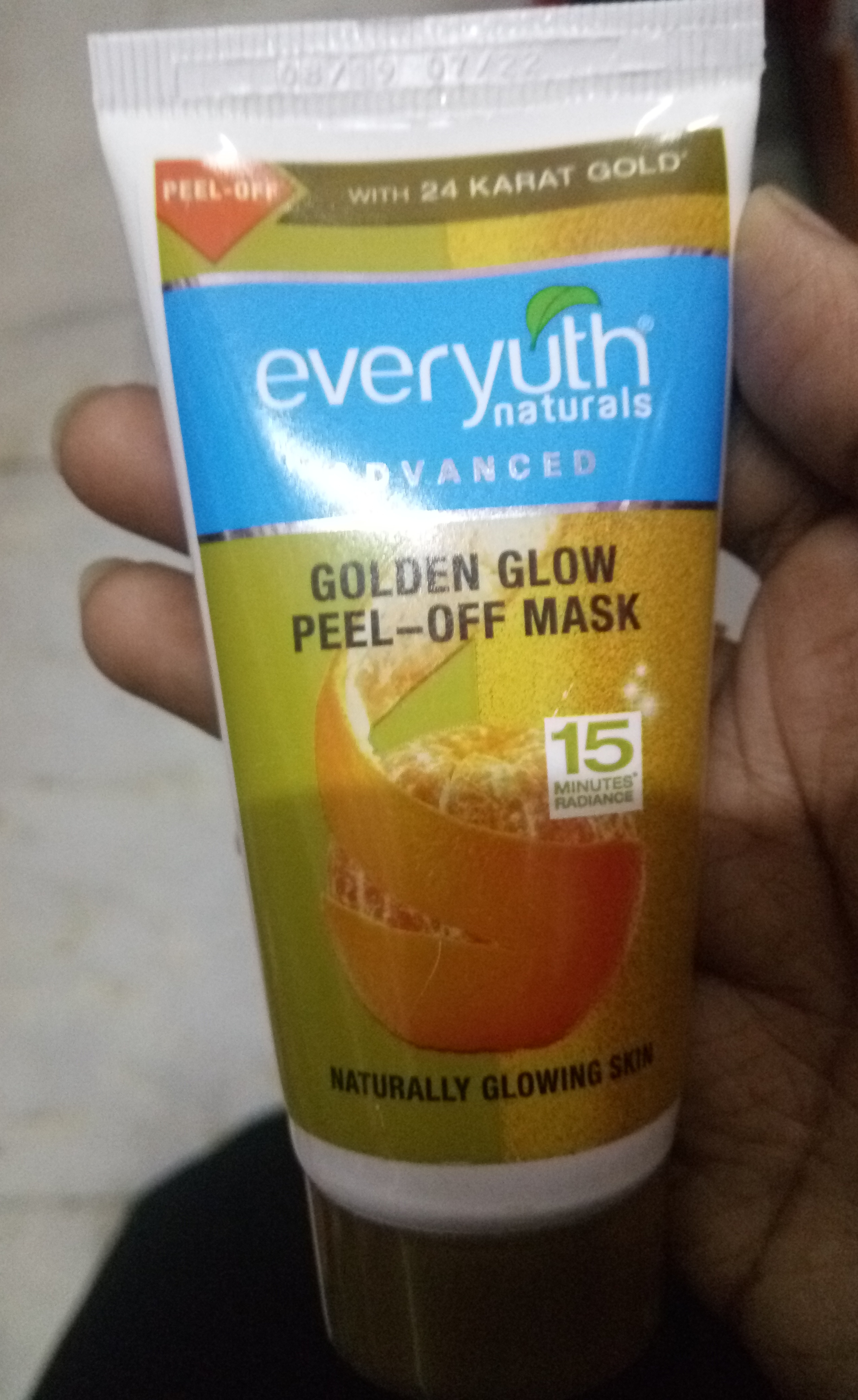 Everyuth Naturals Advanced Golden Glow Peel-off Mask-Love it-By Nasreen-1