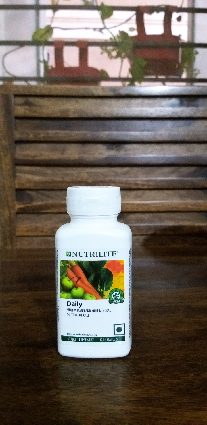 Amway Nutrilite Daily Multivitamin And Multimineral Tablets -Amway nutrilite daily-By nidhiprakash12
