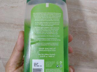 Biotique Bio Green Apple Fresh Daily Purifying Shampoo & Conditioner pic 2-Gentle shampoo-By bhumikad
