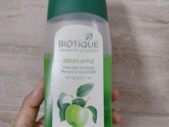 Biotique Bio Green Apple Fresh Daily Purifying Shampoo & Conditioner pic 1-Gentle shampoo-By bhumikad