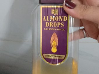 Bajaj Almond Drops Hair Oil -Using since generations-By poonam_kakkar