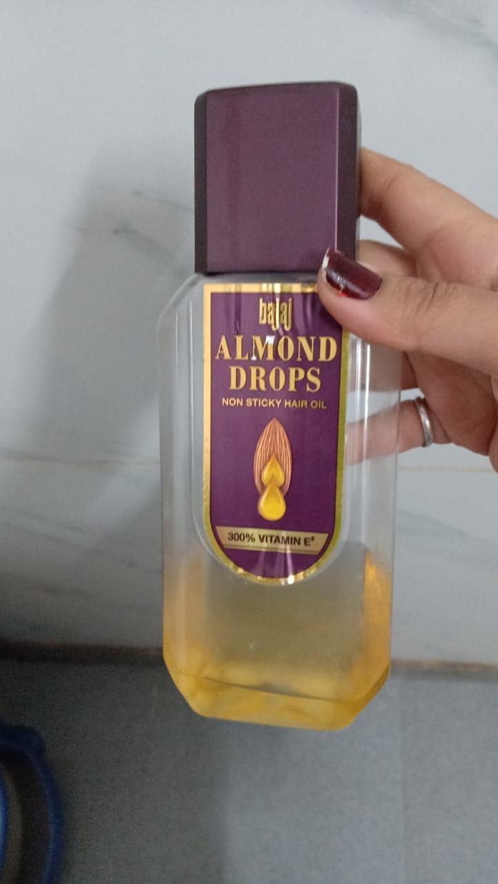 Bajaj Almond Drops Hair Oil-Using since generations-By poonam_kakkar