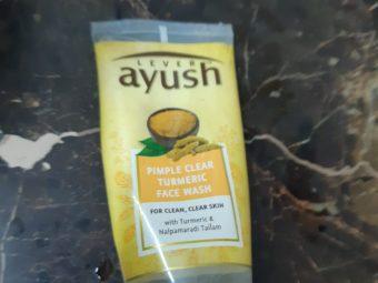 Lever Ayush Anti Pimple Turmeric Face Wash -Turmeric keeps pimples away!-By poonam_kakkar