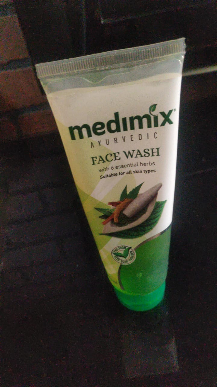 Medimix Ayurvedic Herbs Face Wash-Perfect Ayurvedic Herbs face Wash!-By poonam_kakkar