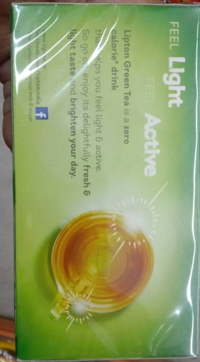 Lipton Honey Lemon Green Tea pic 2-Amazing-By Nasreen