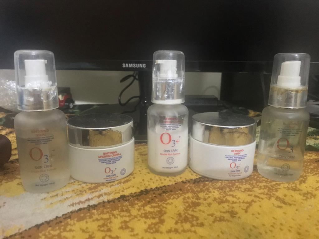 O3+ Whitening Facial Kit-Makes the skin shine and bright!-By poonam_kakkar
