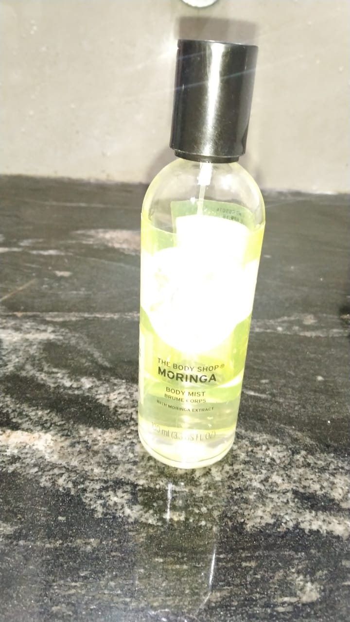 The Body Shop Moringa Eau De Toilette-Perfect fruity fragrance for summers!-By poonam_kakkar