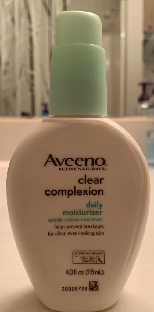 Aveeno Clear Complexion Daily Moisturizer-Light daily moisturiser!-By poonam_kakkar