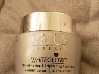 Lotus Herbals WhiteGlow Skin Whitening & Brightening Nourishing Night Creme -Miusturises and hydrates skin!-By poonam_kakkar