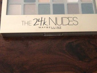 Maybelline New York The 24K Nudes Eyeshadow Palette -All dolled up for the perfect look!-By poonam_kakkar