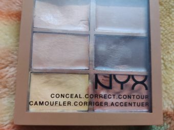 NYX Professional Makeup Conceal Correct Contour Palette -Make up like a pro with this palette!-By poonam_kakkar