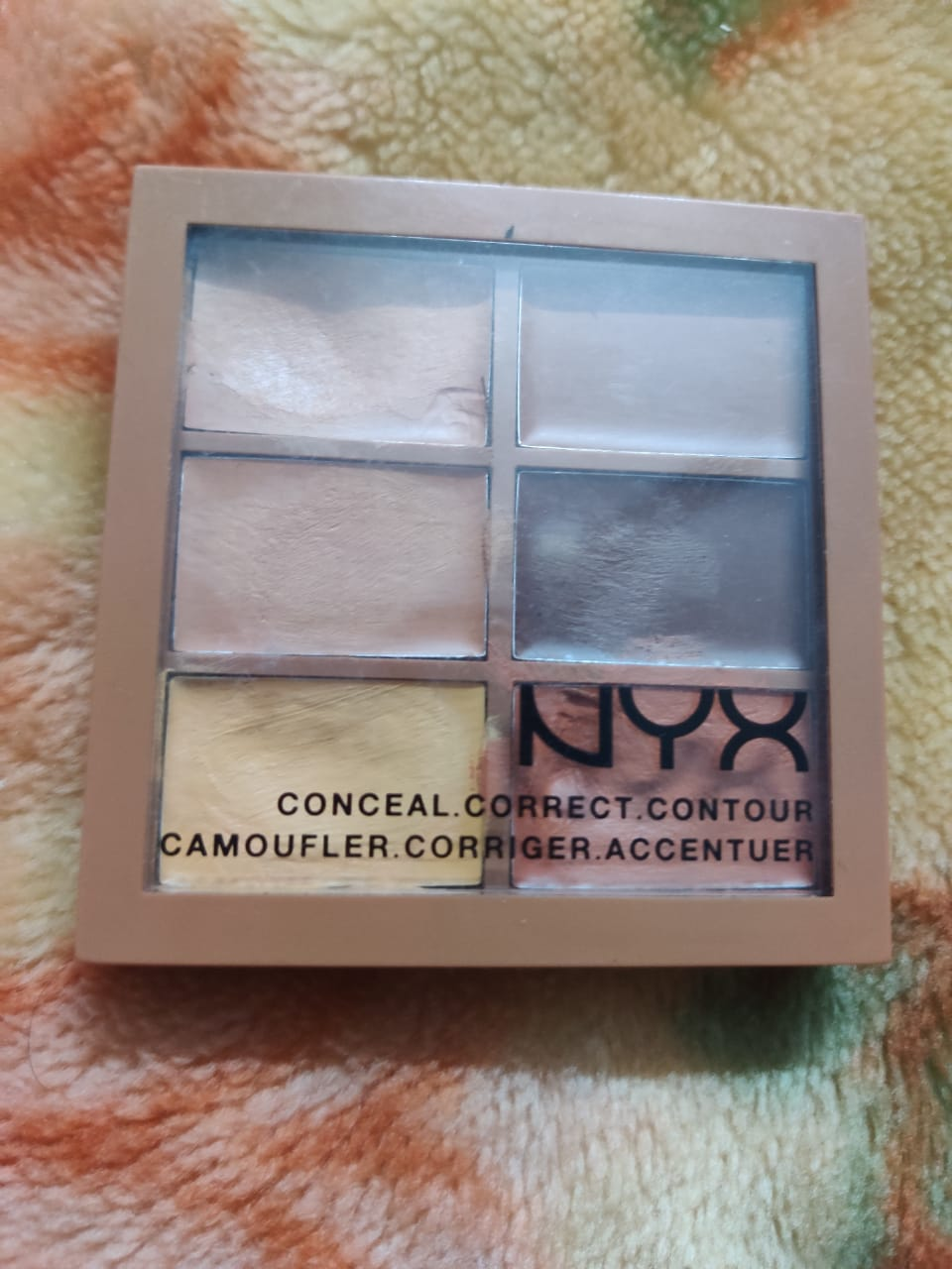 NYX Professional Makeup Conceal Correct Contour Palette-Make up like a pro with this palette!-By poonam_kakkar