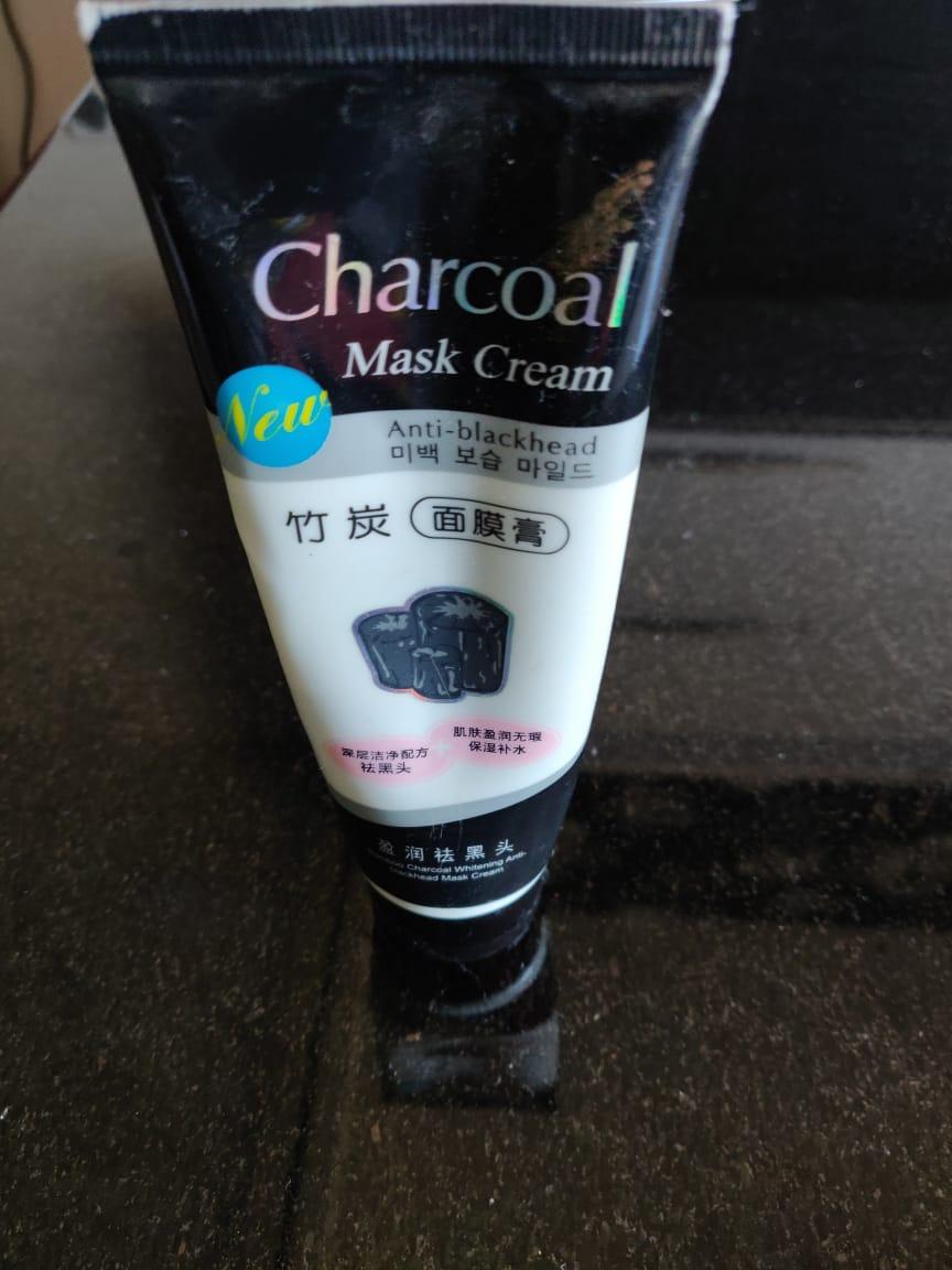 Charcoal Mask Cream -Charcoal mask!-By poonam_kakkar